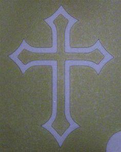 celtic cross stencil