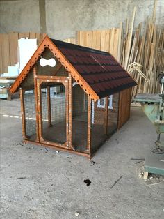 Pallet Dog House, Wooden Dog House, Pallet Dog Beds, Large Dog House, Dog House Bed, Dog House Plans, Homemade Dog House, Outdoor Dog Area, Dog Enclosures