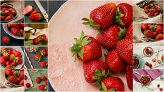 Strawberry Collage Wallpaper Gratis, Collage, Strawberry, Fruit, Food, Food And Drinks, Collages, Essen, Strawberry Fruit
