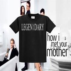 Legen-wait for it-Dary Lengendary Funny Barney Stinson How I met Your Mother Shirt - Tee Shirt T-Shirt TShirt Ladies Mens Womens Cool Shirt. $11.99, via Etsy.