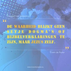 Uit: Omgaan met verleiding @ErwinDeRuiter | Stadopeenberg.nl | #Waarheid #Jezus