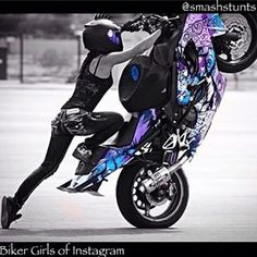 female stunt bikers - Google Search