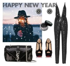 """New Year's Eve"" by maryanacoolstyles ❤ liked on Polyvore featuring GET LOST, Yves Saint Laurent, Christian Louboutin, Naeem Khan and Chanel"