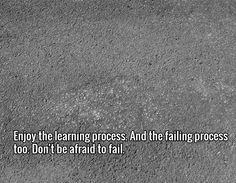 Tip #4 - Enjoy the learning process. And the failing process too. Don't be afraid to fail.. Visit http://affiliatemarketingpdf.com/