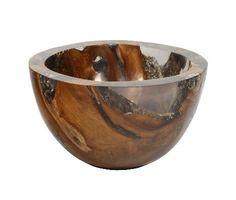 Teak Resin Bowl