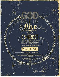 God loved us, even when we were dead in our transgressions!!
