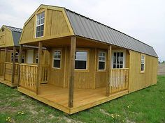 Amish built  portable Garage Shed Cabin Barn Tiny House No Credit Checks Indiana