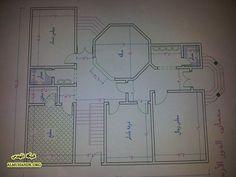 House Layout Plans, House Layouts, House Floor Plans, My Home Design, House Design, House Map, How To Plan, Villa, Decor