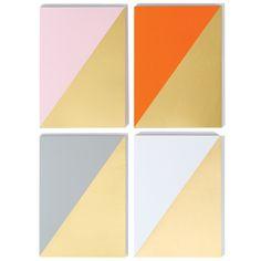 Geometric Notebooks by Pedlars #pattern #decoration #interiors #home #maison #motif #geometrique #geometric