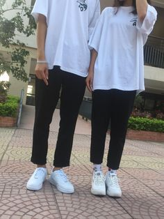 Matching Couple Outfits, Matching Couples, Ulzzang Couple, Ulzzang Boy, Asian Fashion, Boy Fashion, Couple Aesthetic, Cute Love, Photo Editing