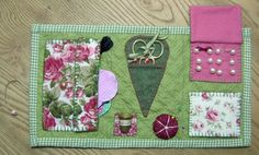 Sewing Kit from Victoriana Quilt   Designs (www.victorianaqui...)
