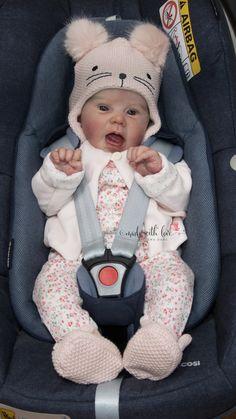 Reborn baby girl Abbie by Ak Kitagawa, reborned by Lena Dahl