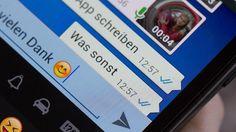 Bei vielen Teilnehmern kann eine WhatsApp-Gruppe anstrengend sein. (Quelle: imago/Eibner)