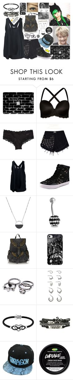 """""""Summer Outfit"""" by k-pop-things-and-such ❤ liked on Polyvore featuring City Chic, Calvin Klein, Helmut Lang, Rebecca Minkoff, White House Black Market, Bling Jewelry, Topshop, Forever 21 and Jewel Exclusive"""