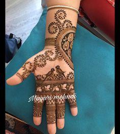 Trending: Parrots in your Mehendi Mehndi Designs Book, Stylish Mehndi Designs, Dulhan Mehndi Designs, Mehndi Patterns, Mehndi Design Pictures, Mehndi Designs For Hands, Mehendi, Bridal Mehndi, Mehndi Images