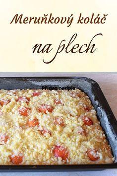 Czech Recipes, Ethnic Recipes, Kolache Recipe, Cake Recipes, Dessert Recipes, My Dessert, Sweet Cakes, Pavlova, Baked Goods