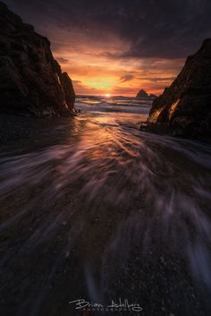 Fire Tide. by Brian Adelberg on 500px