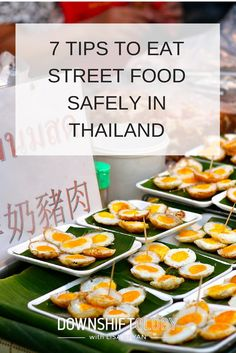 7 tips to eat street food safely in Thailand (+ tons of pics). Take it from this celiac, paleo gal - it's totally do-able! So get out and explore! #paleo