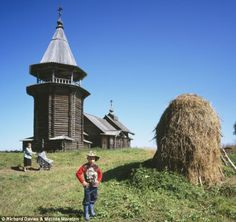 Abandoned Russian church. The photographer spent nine years discovering the forgotten churches and capturing them on film