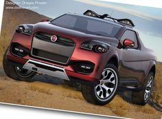 Fiat Sentiero Concept Study: Pick Up Compacto All Cars, Pick Up, Fiat, Concept Cars, Trucks, Vehicles, Offroad, Nova, Study