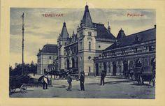 Timisoara - Gara / Palyaudvar 1919