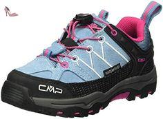CMP Rigel, Chaussures de Trekking et Randonn&Eacutee Mixte Enfant,  Turquoise-Türkis (Niagara