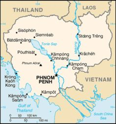 Geography of Cambodia.