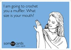 Oh My Freaking Stars!: Crochet & Mufflers LOL!