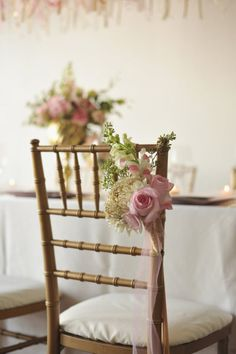 Bridal Ballet Inspiration Shoot from Attention 2 Detail Events Wedding Reception Chairs, Wedding Table, Wedding Aisles, Wedding Bells, Wedding Planning On A Budget, Wedding Prep, Pink Wedding Theme, Wedding Flowers, Aisle Flowers