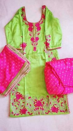 get this beautiful suit @nivetas beautiful colour combination and embroidery    whatsapp +917696747289 visit us at  https://www.facebook.com/punjabisboutique we provide world wide Delivery Punjabi Suit, Punjabi patiala salwar suit, suits, Indian fashion, boutique suits