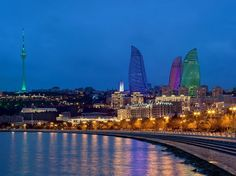 Baku Flame Towers: three new icons on the caucasian skyline