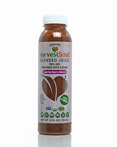 Harvest Soul Sunrise Berry Blended Juice  12 Fluid Ounce single bottle * Learn more by visiting the image link.
