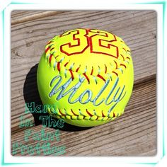 Perfect gift for a birthday, graduation, baby shower or team party's.  Balls are brand new, official, high quality game balls, embroidered and re-laced by hand.  **Team Discounts are available***  **If needed by a certain date please message me before ordering.  **Price Includes: Your choic...