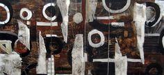 Tribal 2 by Dariusz Labuzek, Triptych, x x Acrylic, ink on wood panel painting, SOLD Triptych, Wood Paneling, Art Studios, Modern Art, Original Paintings, Abstract Art, Ink, Wooden Panelling, Tri Fold Brochure