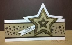 Sternenzauber by sidoni - Cards and Paper Crafts at Splitcoaststampers