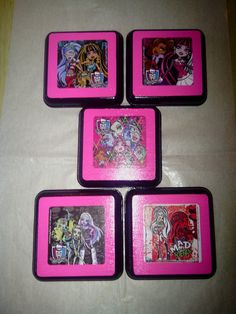 Monster High Wall Decor Plaques Bedding Nursery Art Hanging On Etsy, $24.99