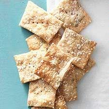 Sourdough Crackers: King Arthur Flour