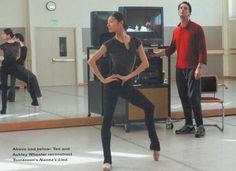 Tan Yuan Yuan in rehearsal