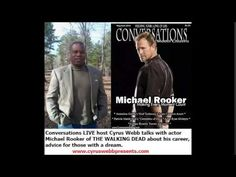The Walking Dead's Michael Rooker talks with Conversations LIVE's Cyrus ...