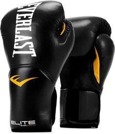 Everlast Elite Pro Style Leather Training Boxing Gloves Size 12 Ounces Black - Fashion Boxing - Ideas of Fashion Boxing Boxing Training Gloves, Mma Training, Boxing Gloves, Work Gloves, Boxing Boxing, Boxing Fitness, Boxing Girl, Boxing Workout, Dojo