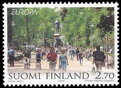 Stamp Collecting, Postage Stamps, Finland, Dolores Park, Paper, Door Bells, Stamps