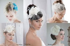 Haar Accessoires für die Braut - Trends 2013