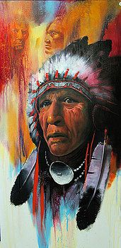 Warrior Chief by Robert Carver kp