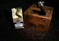 Reclaimed Oak Espresso Knock Boxes