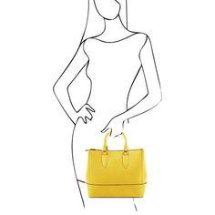 TL Bag - Saffiano leather handbag - TL141638