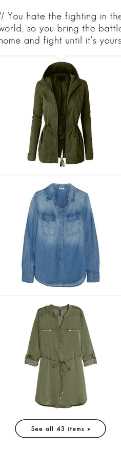 LE3NO Womens Long Sleeve Camo Military Anorak Jacket ($32