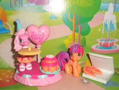 My Little Pony PONYVILLE PONY 2 DIFFERENT, ACCESSORIES in Toys & Hobbies, TV, Movie & Character Toys | eBay