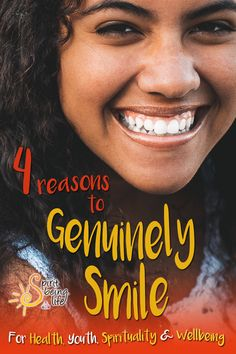 4 reasons to genuinely smile! Discover more about the importance of genuinely smiling for health, youth, spirituality and well being. Smile quotes inspirational, words of wisdom. When You Smile, Smile Because, Your Smile, Make You Smile, Feeling Happy, How Are You Feeling, Lower Heart Rate, Law Of Karma, Genuine Smile