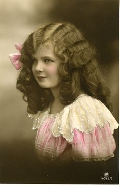 Vintage Postcard ~ Child Beauty | Flickr - Photo Sharing!
