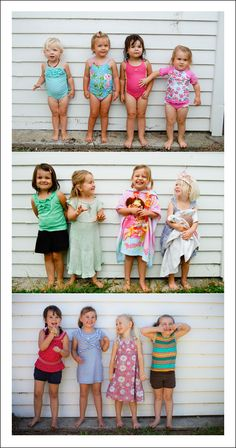 "Cute idea! Cousins/Siblings ""As They Grow Photo"""